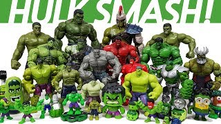 Hulk Smash Toys Collcections Episode.1 Go~! Avengers, Iron Man, Spider Man