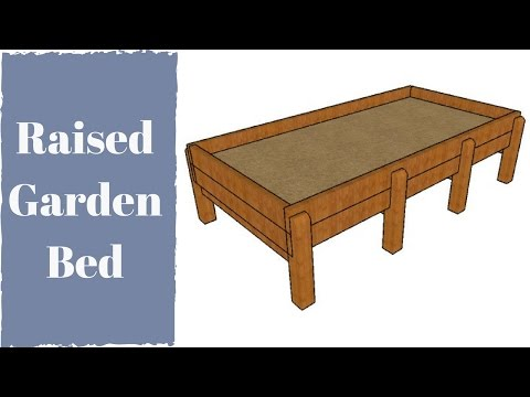 Waist Hgh Raised Garden Bed Plans