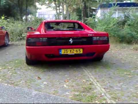 Ferrari 512 TR (Tubi exhaust) and Testarossa '91 (Fuchs exhaust) Video