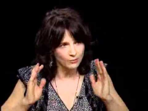 Interview with Juliette Binoche @ Charlie Rose 1/2