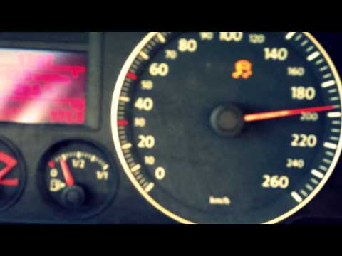 VW GOLF 5 GT 1.4 TSI 170 HP ON HIGHWAY TOP SPEED