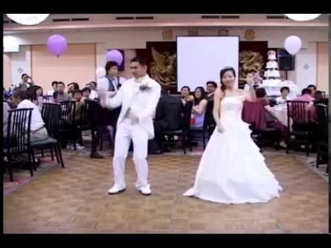 Evolution of Dance w/ Chinese - Vivian and John Wedding First Dance 05/16/09