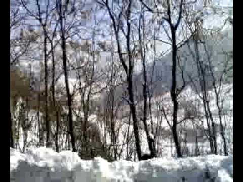Srinagar Jammu Highway during winter