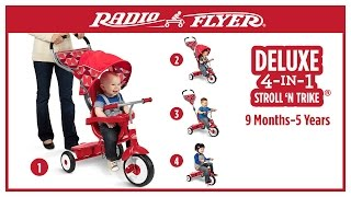 Radio Flyer Deluxe 4-in-1 Stroll