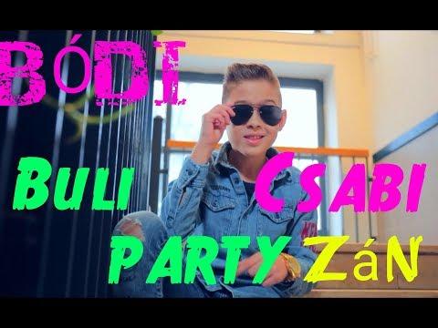 Bódi Csabi - Buli PARTYzán Hivatalos Videóklip 2018