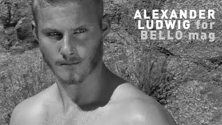 BELLO Exclusive interview with Alexander Ludwig - Vikings