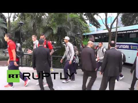 Brazil: US football team hits Sao Paulo