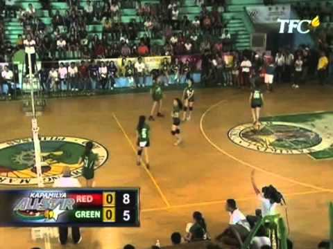 All Star Volleyball Red vs Green Set 1