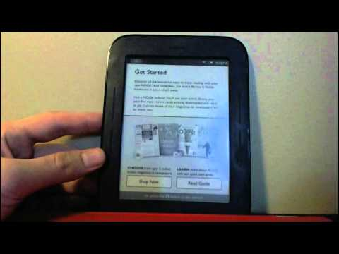 Nook Simple Touch Root and working Market 2012
