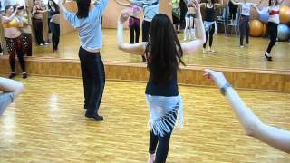 Oleg Ivanov Bellydance Star in Russia - new class music song Yasar Akpence -ah_ya_hbiby