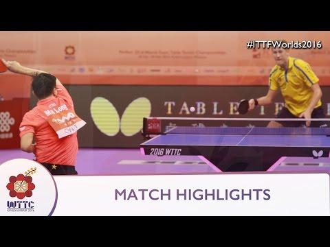 2016 World Championships Highlights: Ma Long Vs Mattias Karlsson