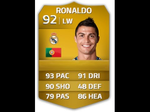 FIFA 14 RONALDO 92 Player Review & In Game Stats Ultimate Team