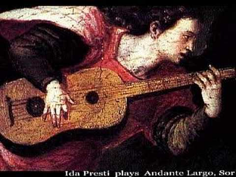 Ida Presti plays Sor Andante Largo