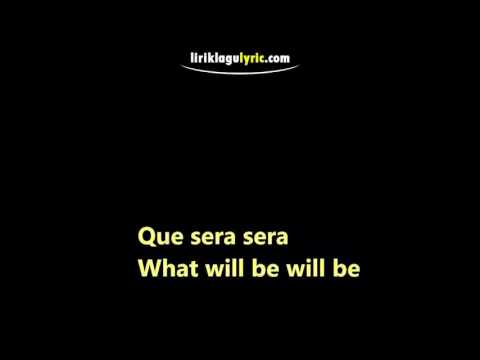 download lagu Que Sera Sera gratis