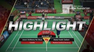 Abdul Kadir Zailani (Mutiara Cardinal Bandung) VS Jason Anthony Ho Shue (Canada)