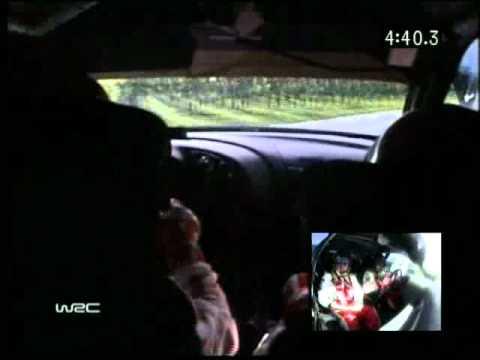 WRC Rally 2005 Germany Sebastien Loeb Onboard pure sound
