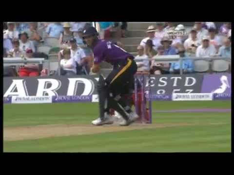 Kane Williamson 70 (Royal London Cup Group A 2014) Lancahsire v Yorkshire