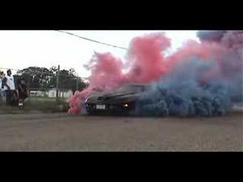 Awesome Trans-Am burnout! - YouTube