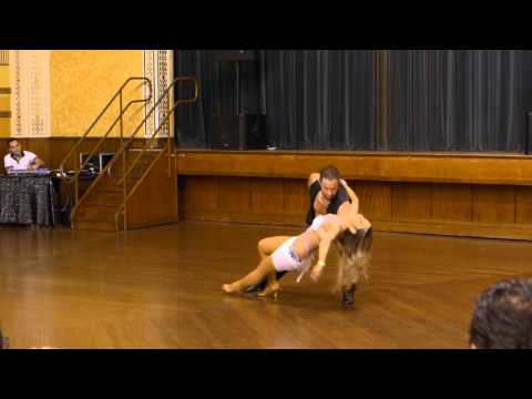 2015 Australian Bachata Championship - Pro/Am Couple - Nestor and Teanne