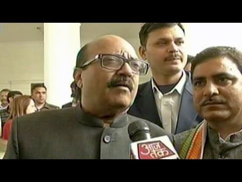 Amar Singh, Jaya Prada - New Members Of Rld video