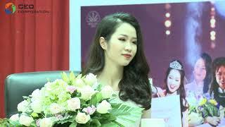 SV Trường Doanh nhân CEO Việt Nam giao lưu với Hoa khôi Học viện Ngoại giao - Lê Ngọc Thùy Dương