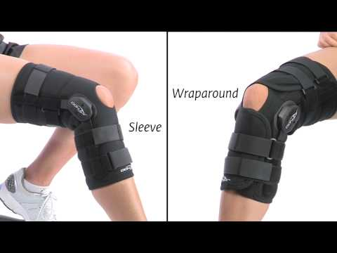 donjoy knee brace fitting instructions