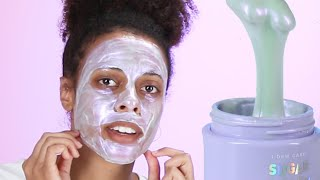Women Try Diamond Powder Face Masks