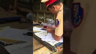 CSGT DakLak bắt láo sai làn thần thánh không có chuyên đề kế hoạch tại KM14 - QL26 - Krong Pak