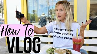 How To Vlog | How To Be A Vlogger!  from Ashley Nichole