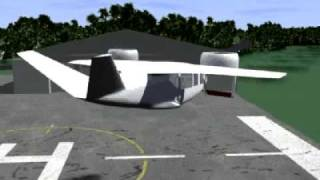 NASA Five Person VTOL Business Jet