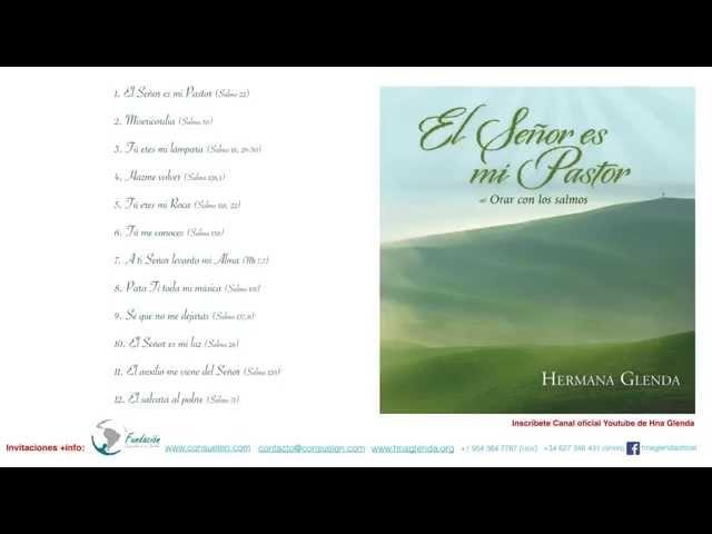 1 HORA MUSICA CON HERMANA GLENDA 2 - EL SEÑOR ES MI PASTOR ( OFICIAL)