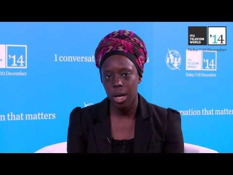 ITU TELECOM WORLD 2014 YOUNG INNOVATOR: Fatoumata Kebe, CONNECTED ECO, France:Mali