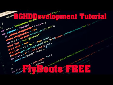 FlyBoots FREE - Plugin Tutorial/Overview