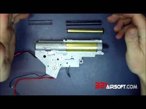 Leaked Video! G&G GR15 Raider Blowback Assembly
