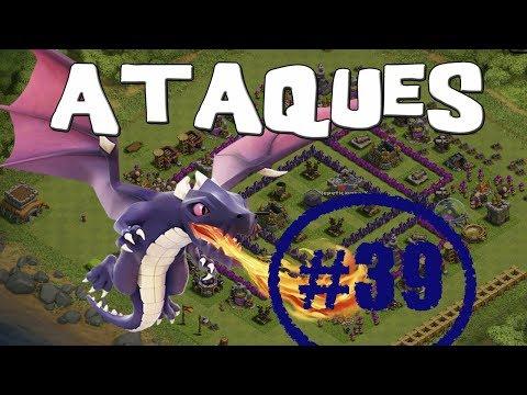 Dirigiendo a dragones de nivel bajo   Empezando Clash of Clans con Android #39 [Español]