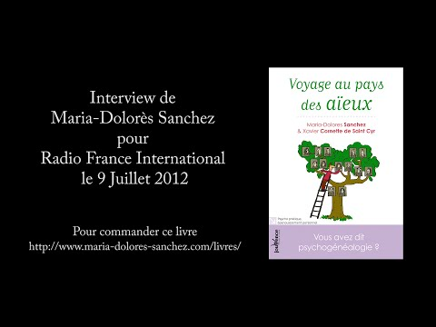 Interview de Maria-Dolorès Sanchez pour Radio France International le 9 Juillet 2012