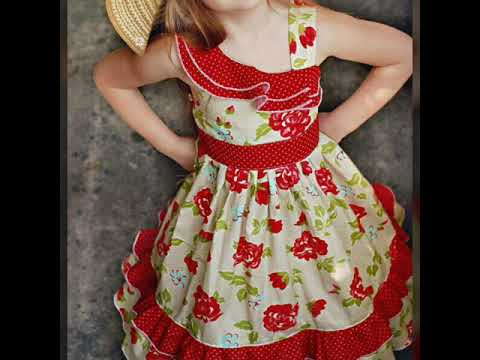 Frock baby frock cotton frock stylish frock latest design one idea different frock