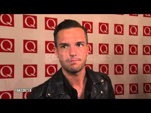 Brandon Flowers at The Q Awards 2012 [Interview] @ The Killers