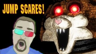 JUMP SCARE MONTAGE - Scary Game Live Reactions!!