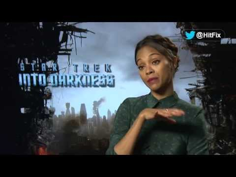 Star Trek Into Darkness - Zoe Saldana Interview