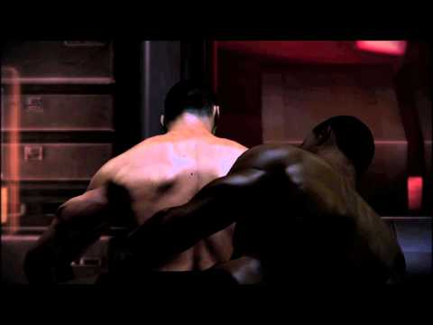 1:32. Mass Effect 3 Cortez Male Gay Romance Scene HD