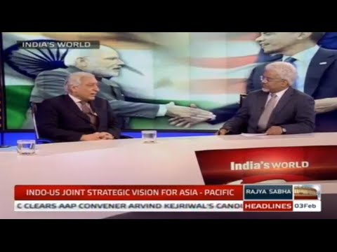 India's World - Indo-US joint strategic vision for Asia-Pacific