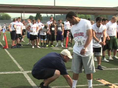Jimmy Spears, Jr., RB / DB, Edmonds Woodway High School, Competitive Edge Combine