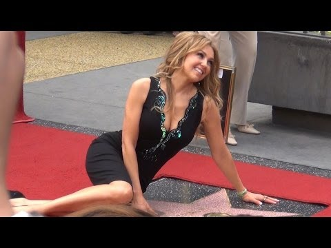 Thalia Hollywood Walk of Fame (FULL CEREMONY)