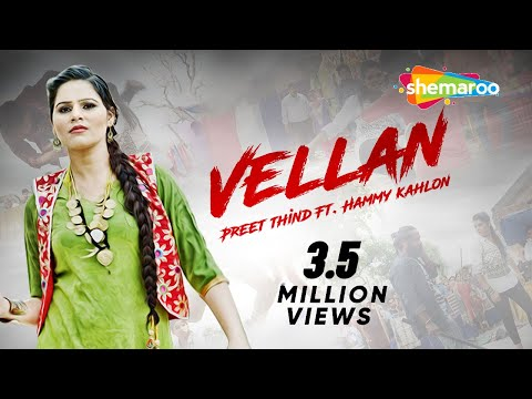 Vellan | Preet Thind | Latest Punjabi Songs 2016