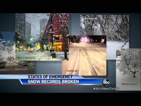 Snow Records Broken: Blizzard in Boston and Beyond