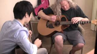 (Preston Reed) Ladies Night - Preston Reed & Sungha Jung (rehearsal)
