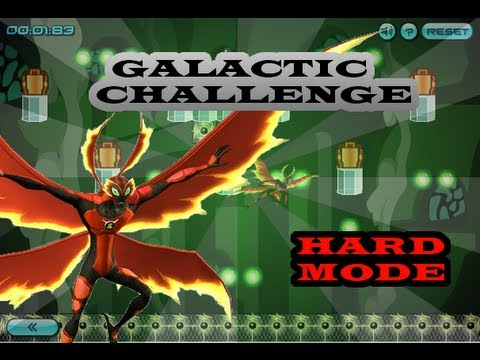 Ben10 Galactic Challenge - Ultimate Bigchill ( Hard Mode )