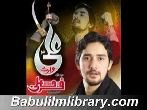 Farhan Ali Waris Nohay 2012 video