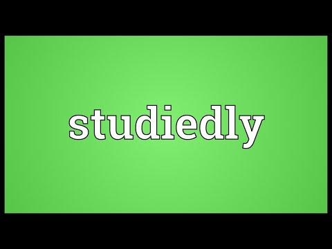 Header of studiedly
